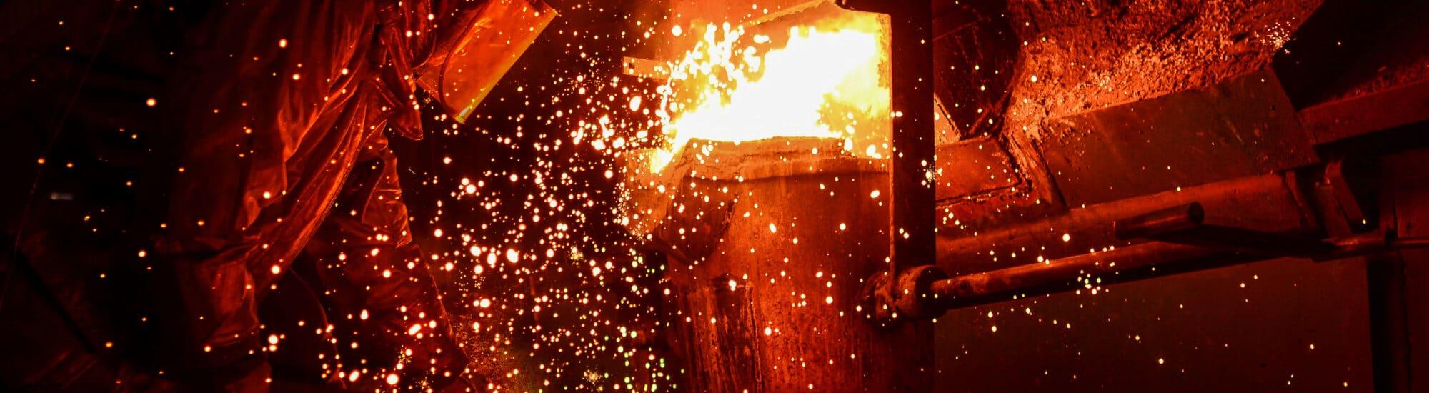 Grüner Strom in der Stahlproduktion