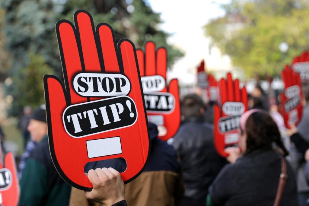 Freihandel Proteste