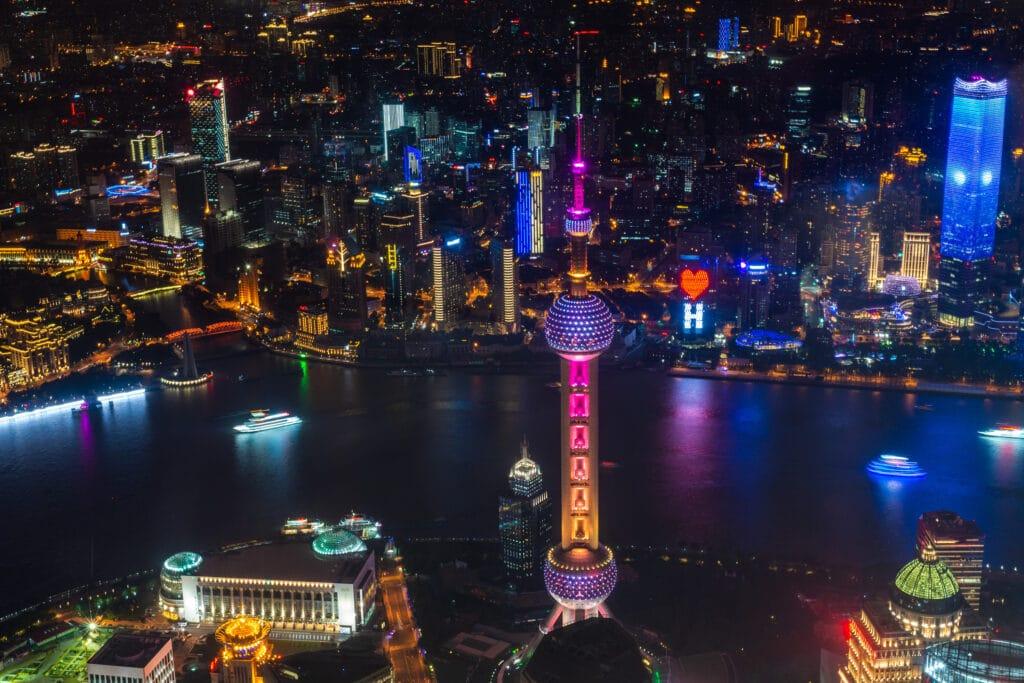 Wirtschaftsmetropole Shanghai