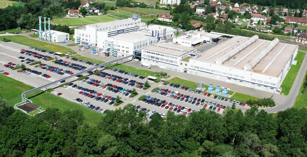 AT&S-Hauptsitz in Leoben-Hinterberg