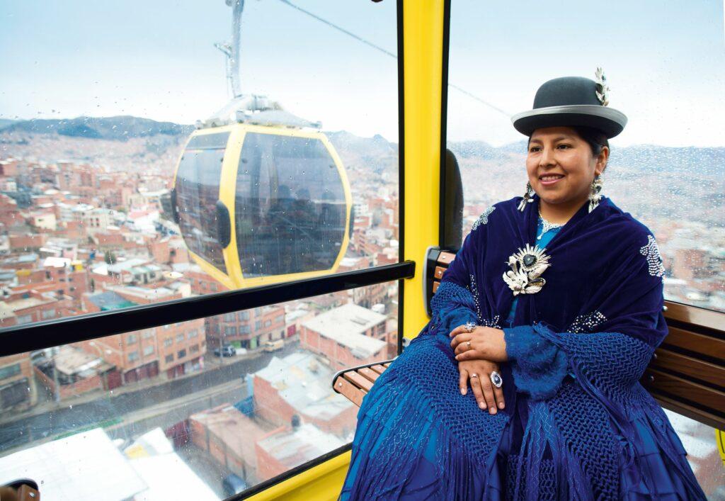 Stadtseilbahn Bolivien