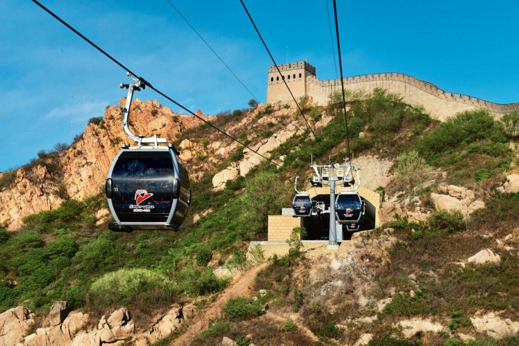 Doppelmayr Seilbahn Chinesische Mauer