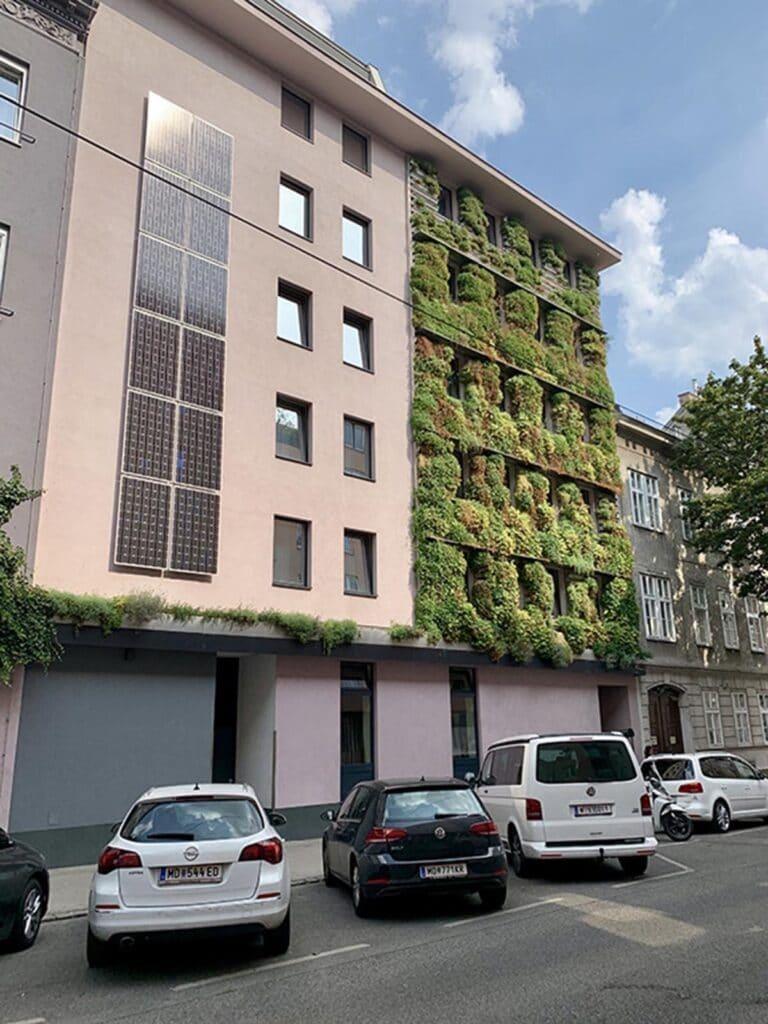 Gruene Fassaden