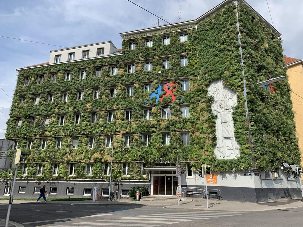 begrünte Fassaden