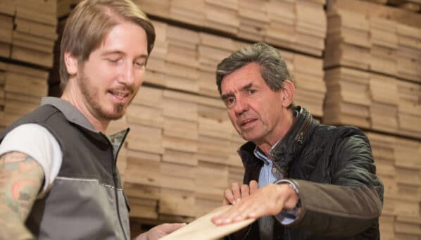 Europäisches Holz als Mangelware