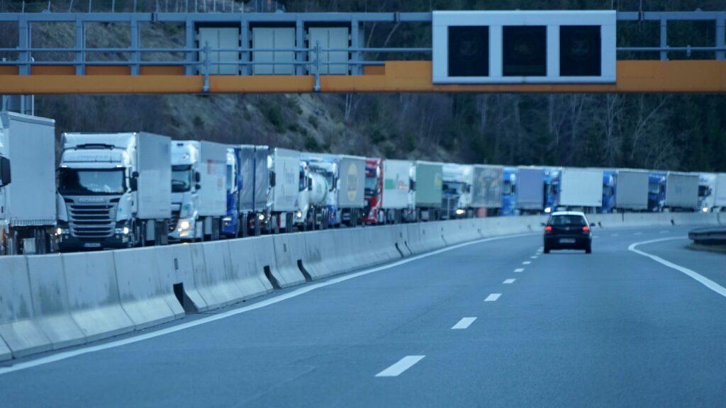 Transit in Tirol